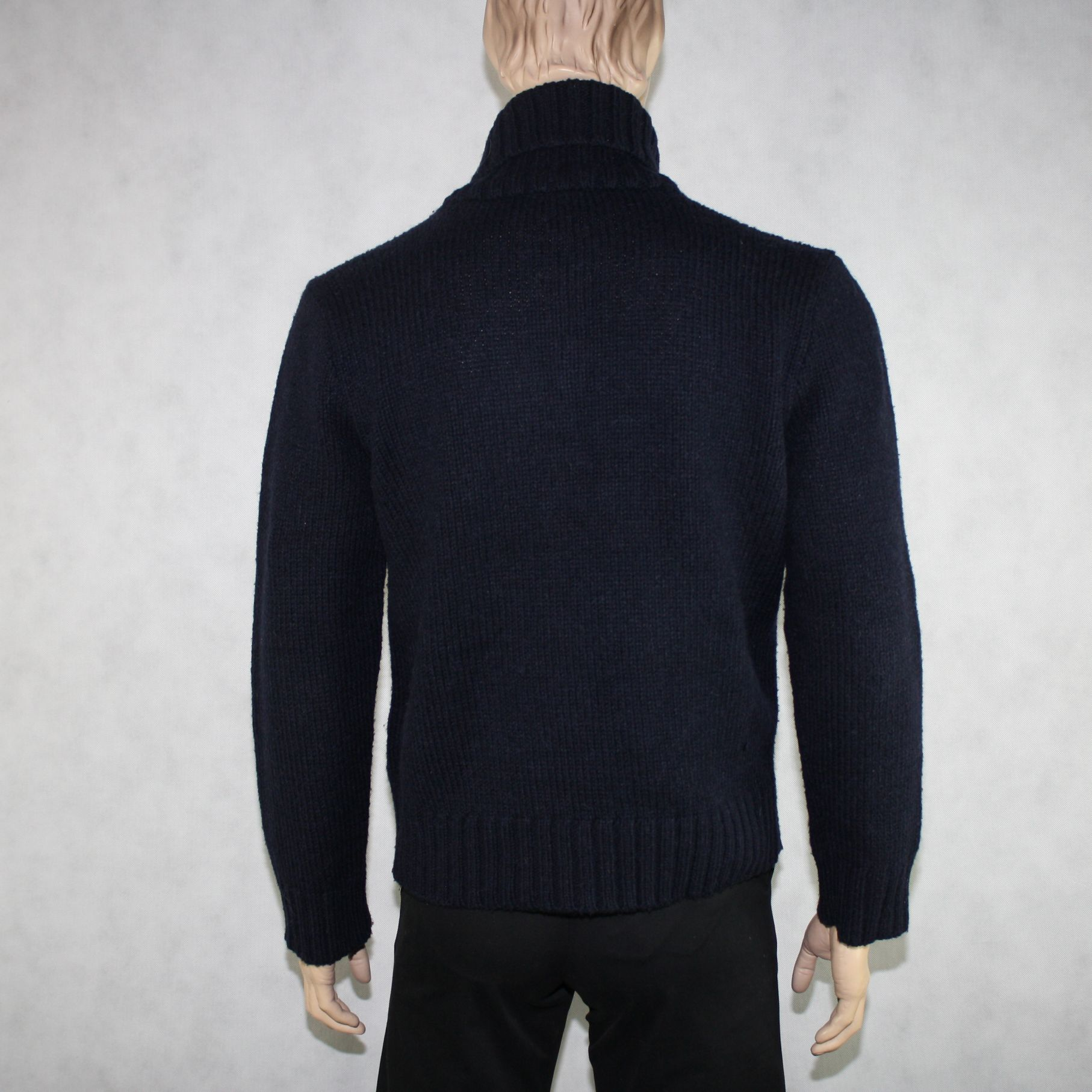 POLO BY RALPH LAUREN mens cowl neck sweater (size L) - vintaya.com