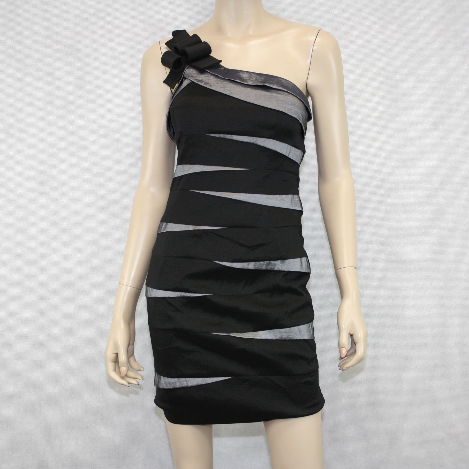 5629eb6b419 Cache One Shoulder Dress Size 8 - vintaya.com